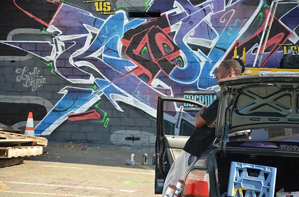 graffiti tour aux Etats unis