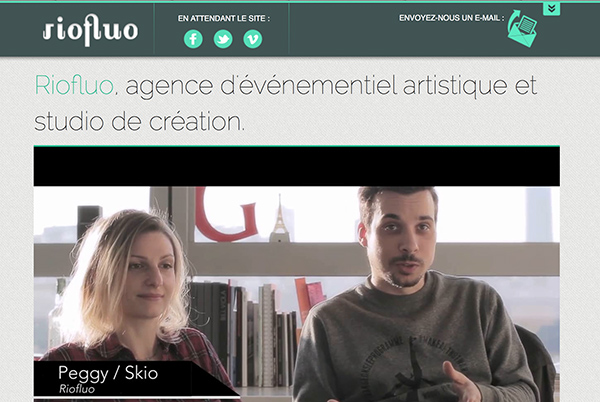 Positionnée comme une agence d'événementiel à part entière, Riofluo se revendique également studio de création