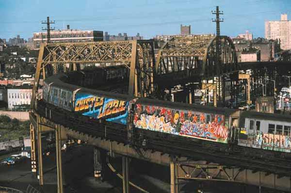 Old school graffiti de Newyork