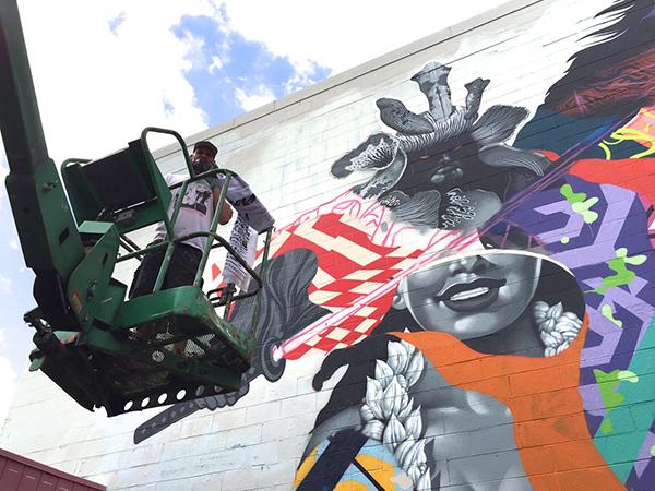 Machine mécanique appropriée pour la peinture murale