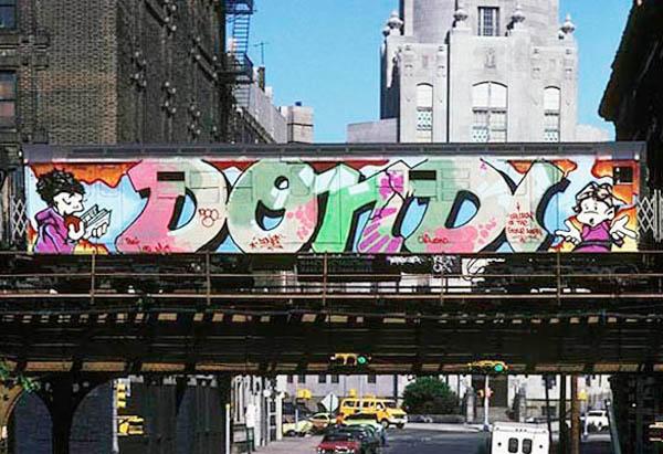 Dondi est l'une des grandes figure des activistes New-yorkais