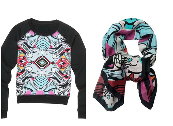 Sweatshirt et foulard par le graffeur Pro
