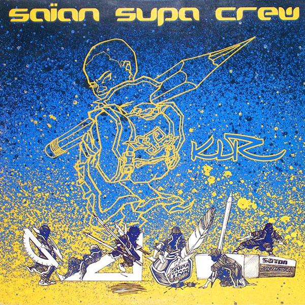 La pate inimitable de l'artiste Mode2 était présente dès le premier album du Saian Supa Crew