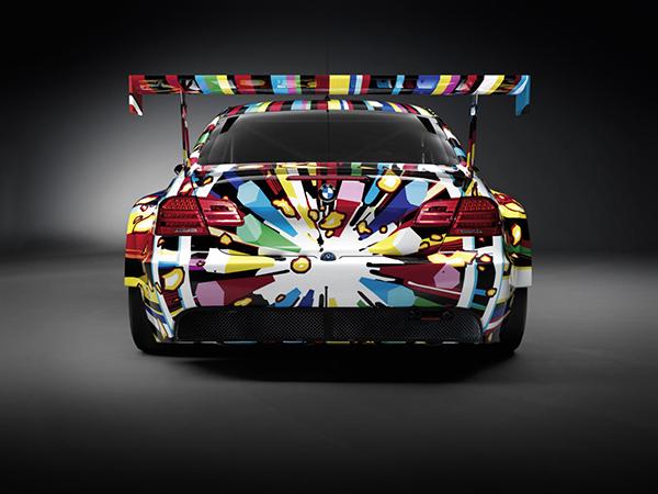 Jeff koons a collaboré avec la marque BMW sur une Art car unique