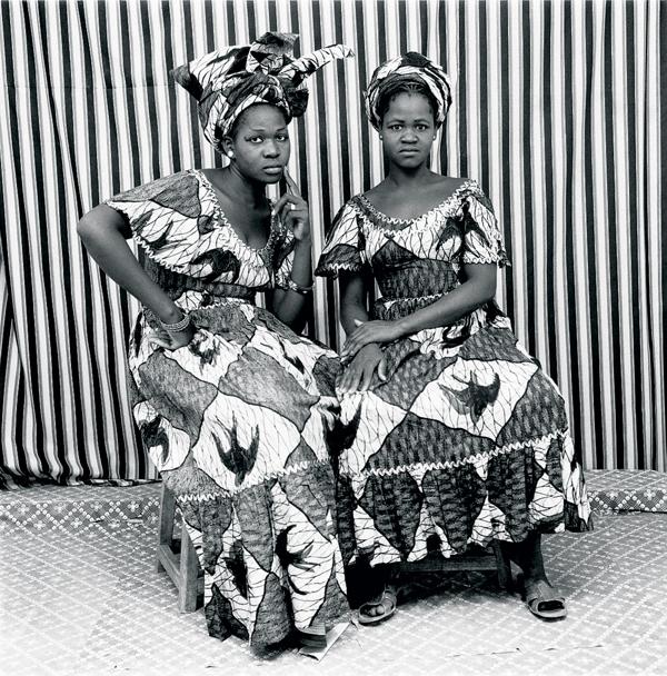 """Portraits de deux femmes par """"l'oeil de Bamako"""""""