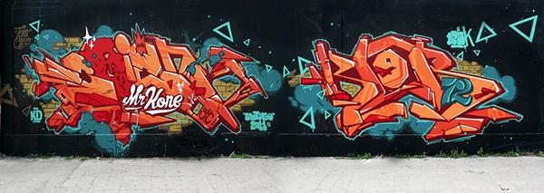 graffeurs originaires du nord de la France