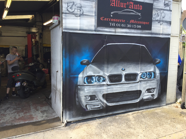 graffiti, garage, tunning, graff, graph, porte, bmw