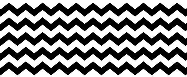 zigzags noir et blanc, contraste, vagues, triangulaire, géométrie