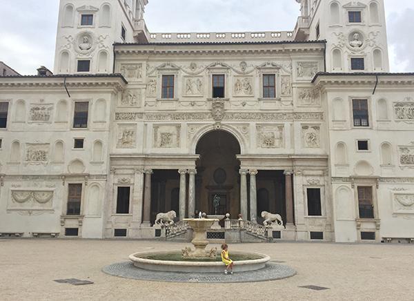 Villa, Médicis, Rome, résidence, artistes, Italie, inspiration, chef d'oeuvre, architecture.
