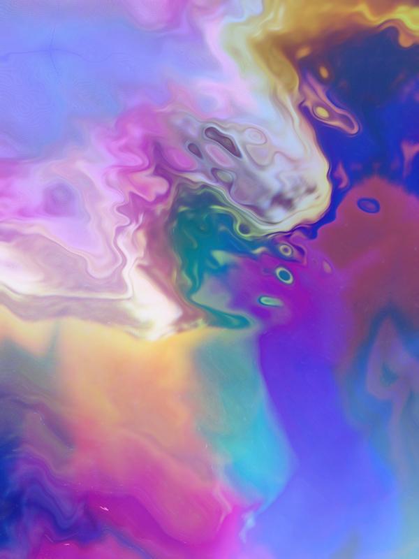 arc-en-ciel, ondes, couleurs, dégradés