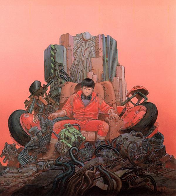 Illustration, art, bd, japon, otomo