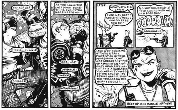 Passgae de la bande dessinée
