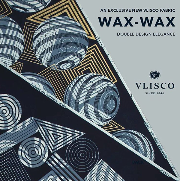 An exclusive new Vlisco fabric